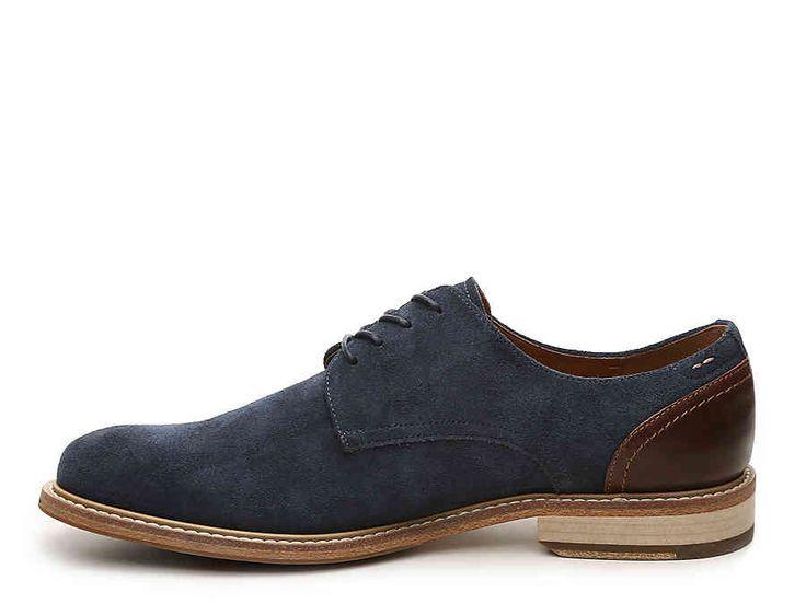 Aldo Galeri, Zapatos de Cordones Derby para Hombre, Azul (1 Navy Suede), 44 EU