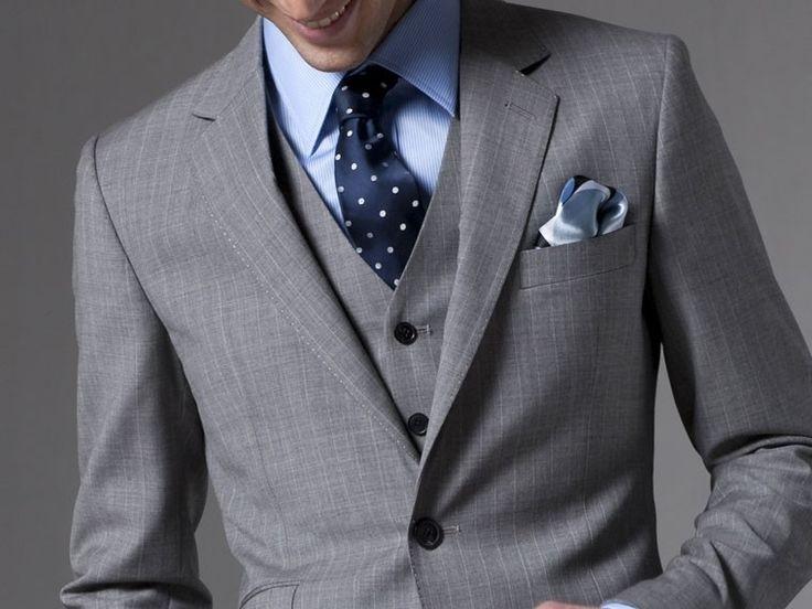 67 best Men's suits images on Pinterest | Men's suits, Gray suits ...