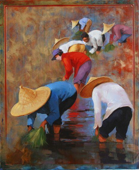 ''Couleurs de Chine'' Georges Corominas