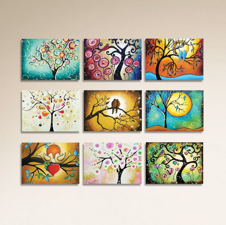 ACEO Prints Tree Prints Tree of Life Woodland Art by hjmArtGallery
