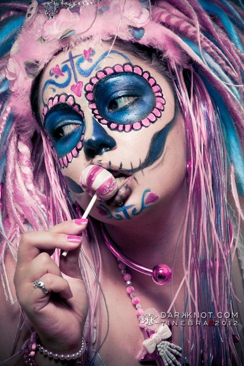 sugar skull girl | Tumblr