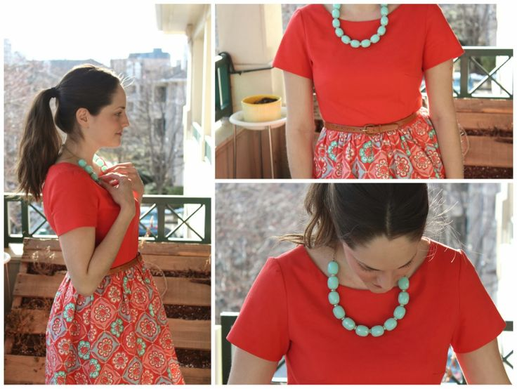 A bright Emery dress for spring