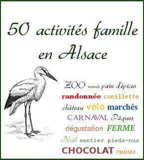 Activités famille : 50 idées pour occuper les enfants et leurs parents en Alsace
