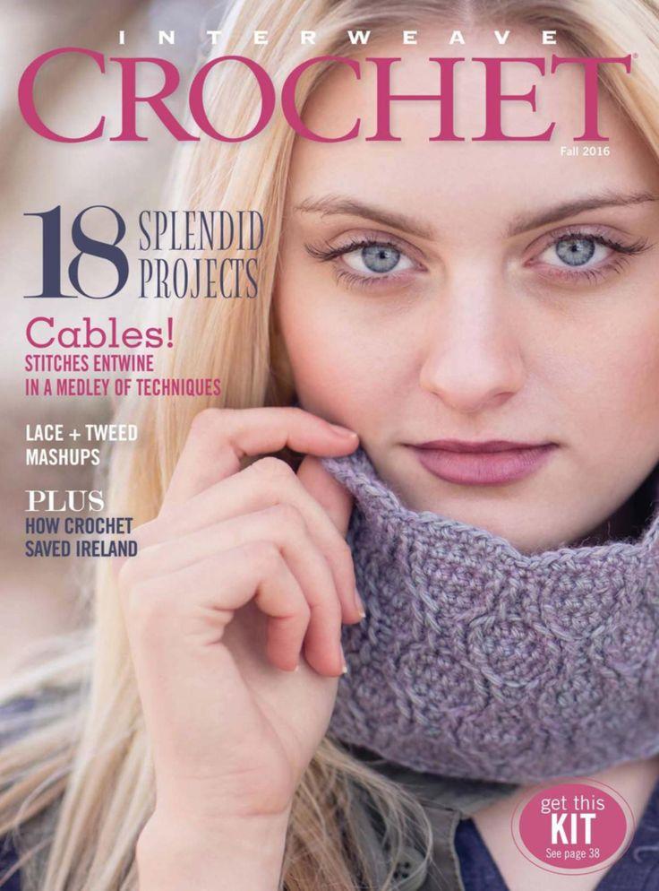 Interweave Crochet Fall 2016 - 轻描淡写 - 轻描淡写
