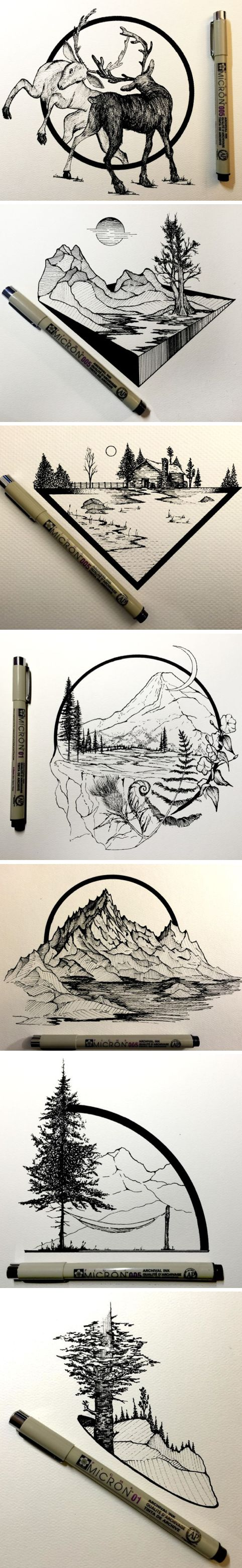 Daily Drawings by Derek Myers #illustration #drawing #art