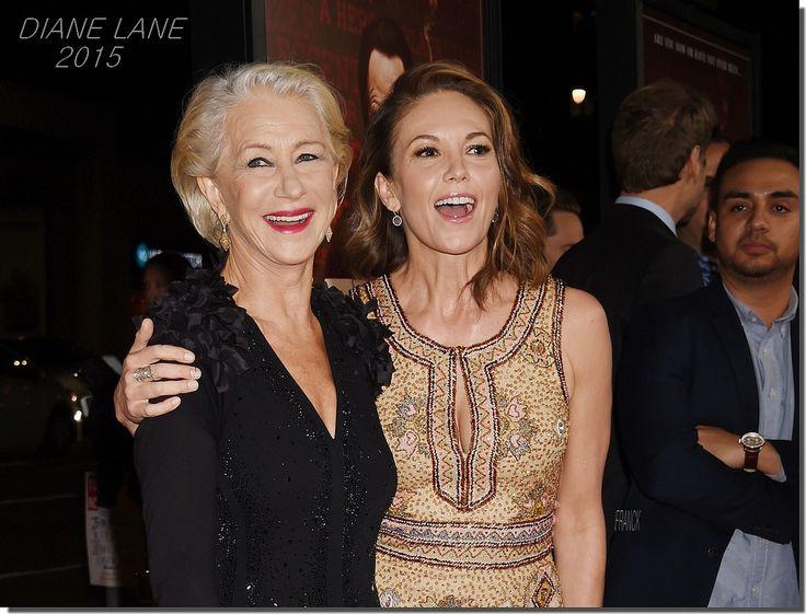 DIANE LANE ..2015 | Helen Mirren. Premiere of 'Trumbo'. 2015 OCT
