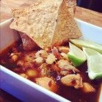 Chicken Posole Recipe with Lime