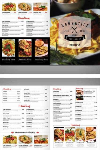 88 gambar contoh flyer menu cafe dan restoran terbaik di for Design hotel i restoran navis