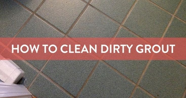 how to clean grout easily