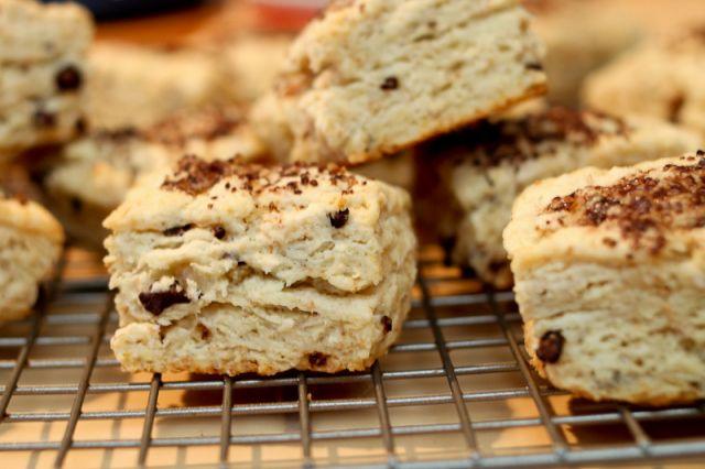 Cocoa nib scones | food | Pinterest