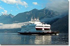 Love catching this little ferry to a unique little island. Bowen Island. Great Place