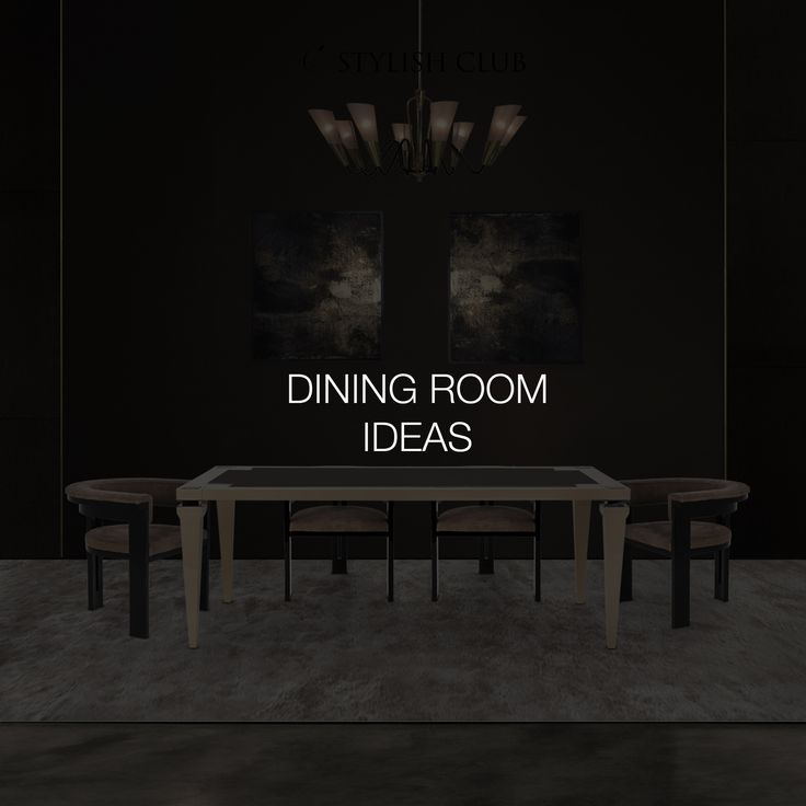 An elegant dining room is the perfect place to entertain in style, setting the scene for convivial dining in luxurious surroundings with elaborate finishing touches.