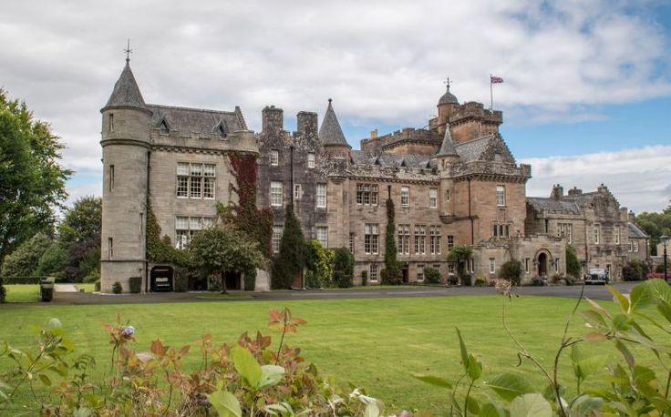 Luxury Scottish Weddings: Glenapp Castle