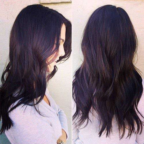dark brown hair with purple tint - Google Search