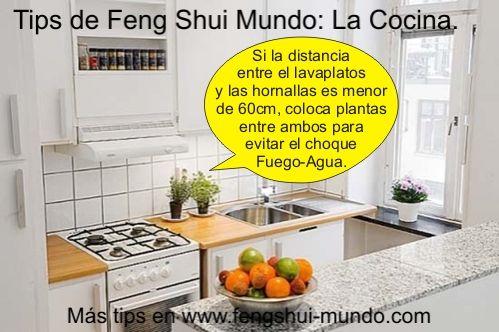 cocina feng shui