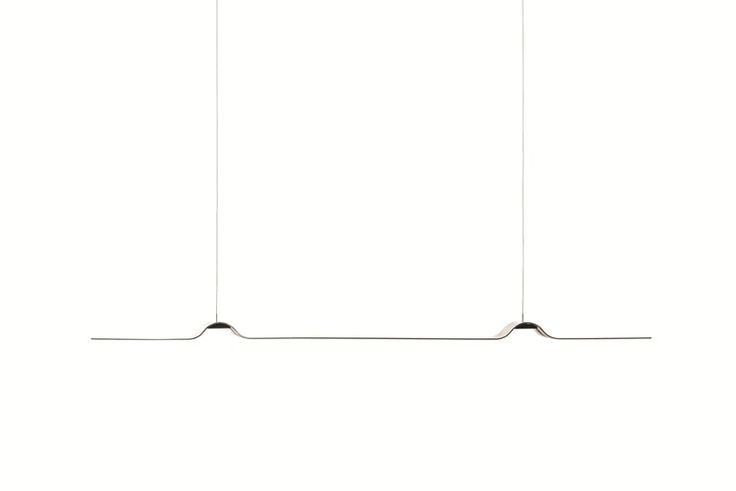 LED ALUMINIUM PENDANT LAMP TAPE L TAPE COLLECTION BY FORMAGENDA   DESIGN BENJAMIN HOPF, HOLGER QUICK