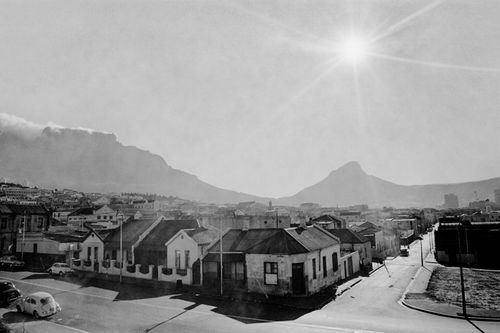 Residential neighbourhood of District Six in the late 1960s, Cape Town. In collections - The Spirit of District Six