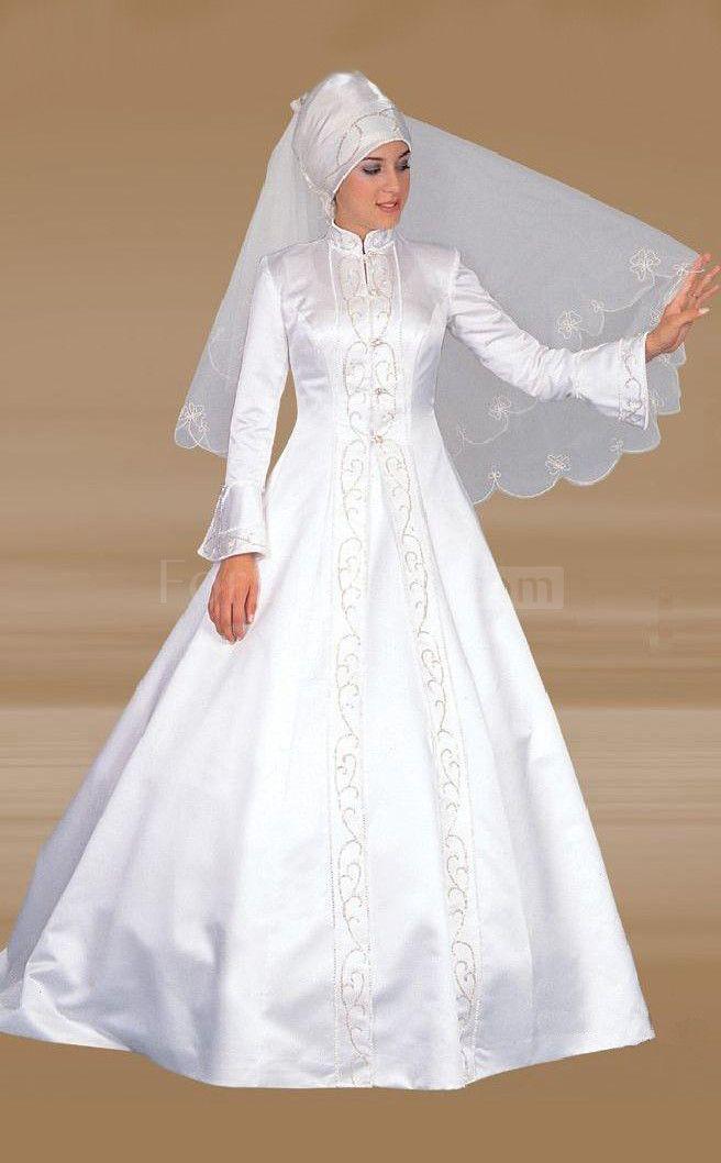 23 best Muslim Wedding Dresses images on Pinterest | Homecoming ...