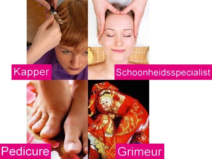 KOC: informatie over uiterlijke verzorging: kapper, schoonheidsspecialist en voetverzorging