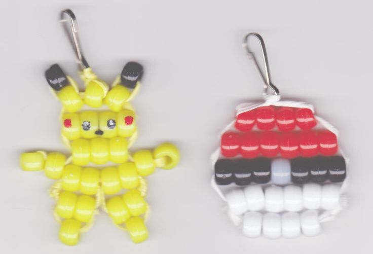When the servers are down and you can't play Pokemon Go, grab some beads and make some Pokemon crafts! 42 Original Patterns on my web page http://evsbeadiecrafts.com/ and 57 more at http://www.beadiecritters.com/