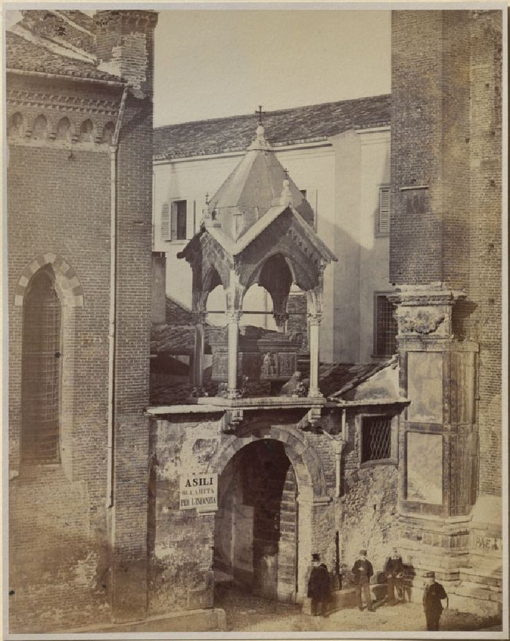 VIntage photo of Castelbarco Tomb, Sant' Anastasia, Verona