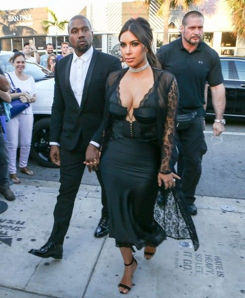 Kim Kardashian Photos - Celebrities Attend Isabela Rangel & David Grutman's Wedding in Miami - Zimbio