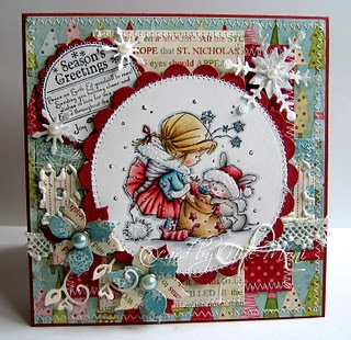 Take a present from Nellie Snellen stamp #card