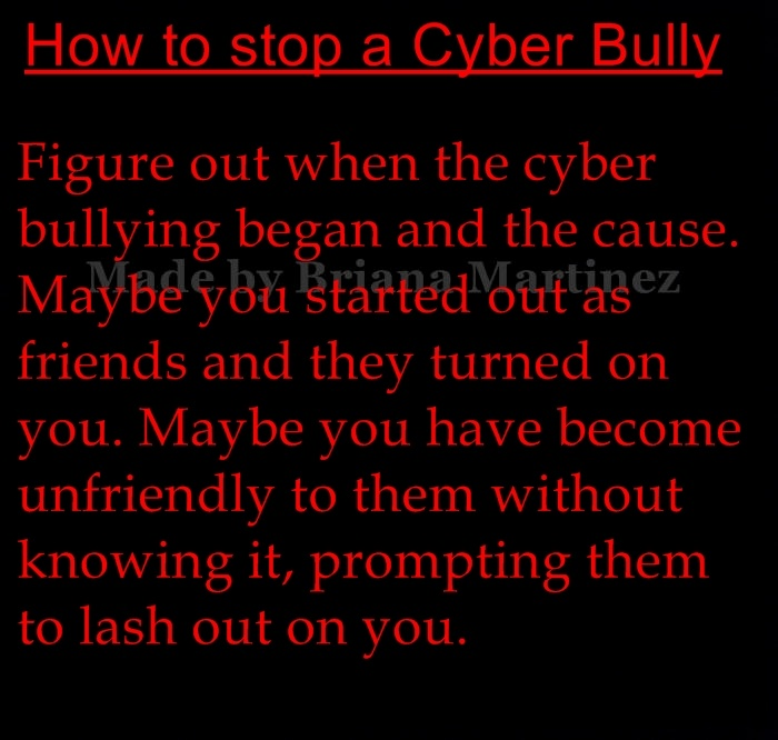 cyberbullying moving the bully from the Cyberbullying is any kind of bullying or harassment done using technology cyberbullying is the use of technology to bully a person or group with the intent to hurt them socially music that presses your energy button and gets you up and moving.