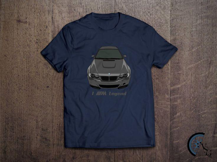 I M Legend BMW M3 CSL T-Shirt