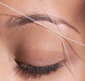 i think i really want to try eyebrow threading