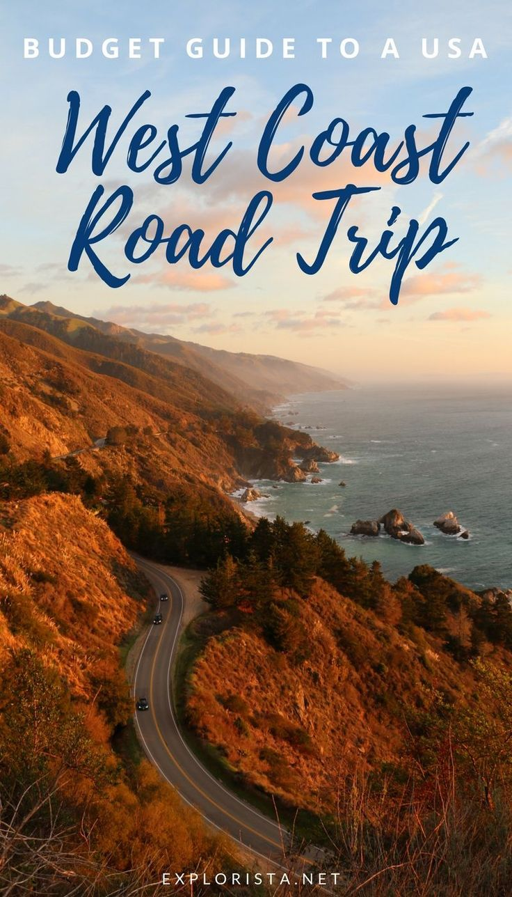 Wondering how much it costs to go on a USA West Coast road trip for one month? Here's our budget breakdown. #budgettravel #usa #TravelDestinationsUsaWest