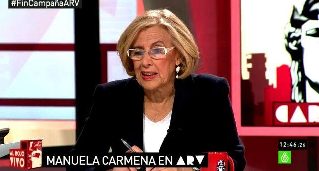Carmena, sobre Aguirre: La gente está harta de políticos prepotentes