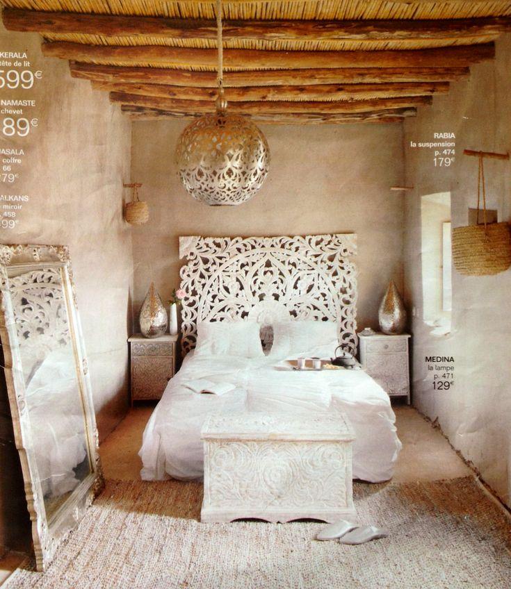 Scandinavian white interiors with an indian twist - Wohneinrichtung ideen ...