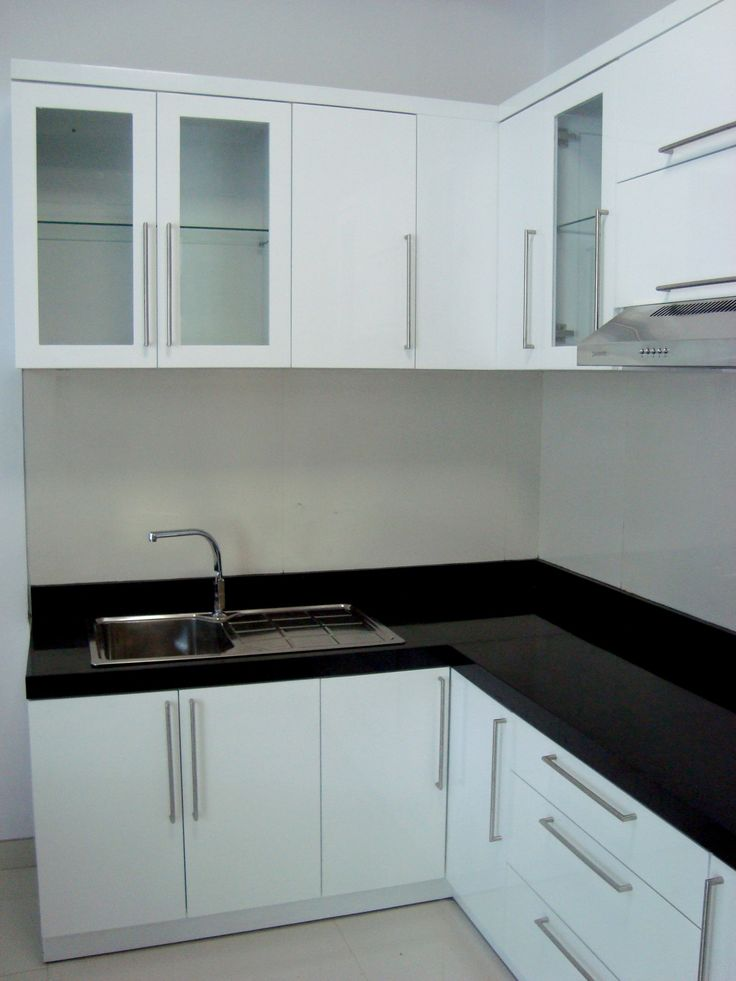 Black And White Kitchen Design By Simple Luxury Interior Surabaya Indonesia