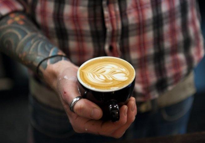 Coffee @ Half Penny Speciality Coffee  422 Sydney Road   Brunswick