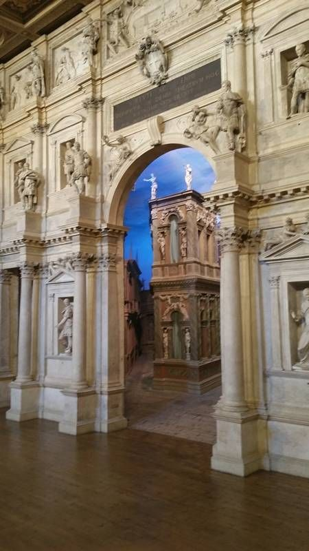 Vicenza, Italy, is filled with beautiful piazzas and Byzantine-influenced Venetian architecture.