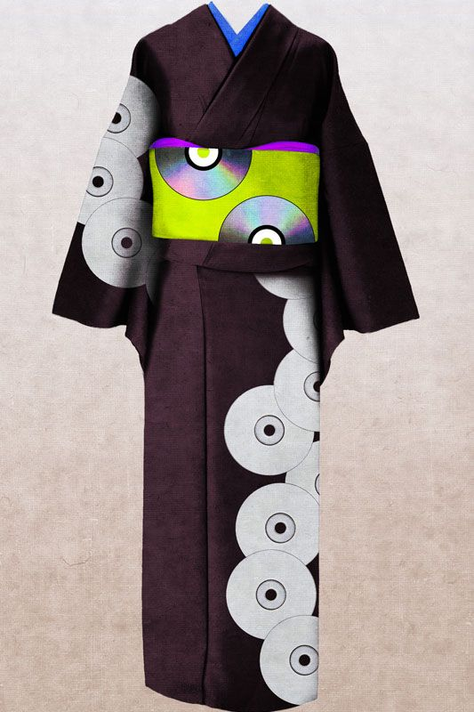 YORIKO YOUDA workbook   kimono
