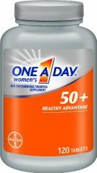 One A Day Women's 50+ Advantage Multivitamins, 120 Count