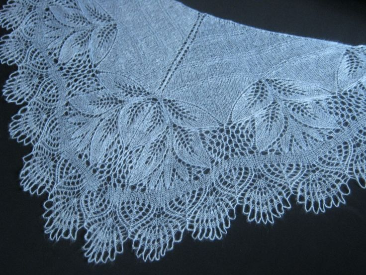 17 Best Images About * Knitting /shawl, Scarf, Cowl/ On