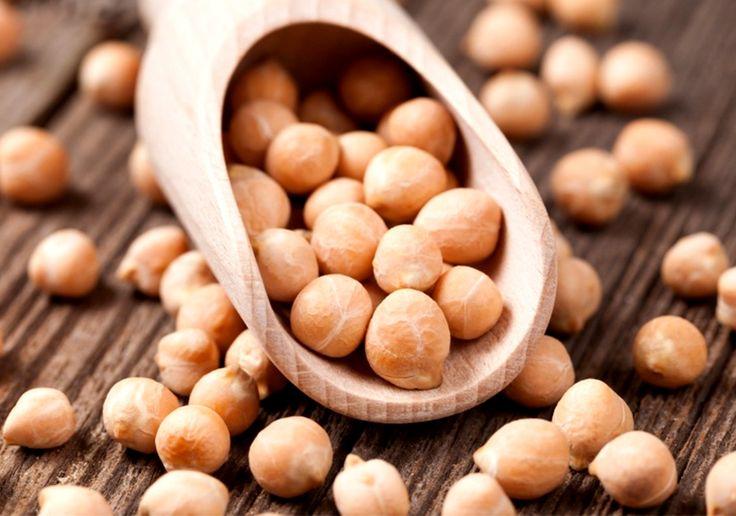 Рецепт белкового салата из нута