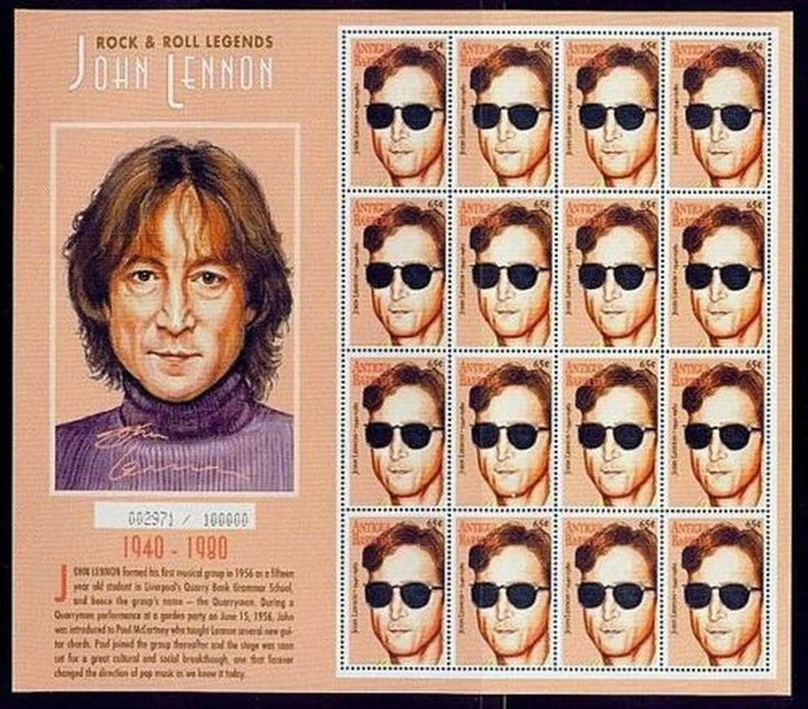Beatles Stamps The Most Popular Special Collection