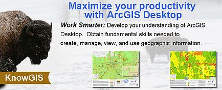 Professional ArcGIS Desktop Training