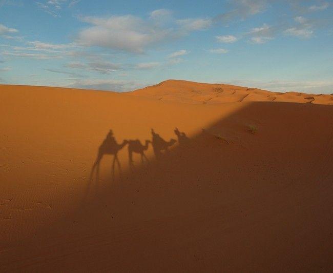 Noc na Saharze... #urlop #turystyka #podroze #sahara