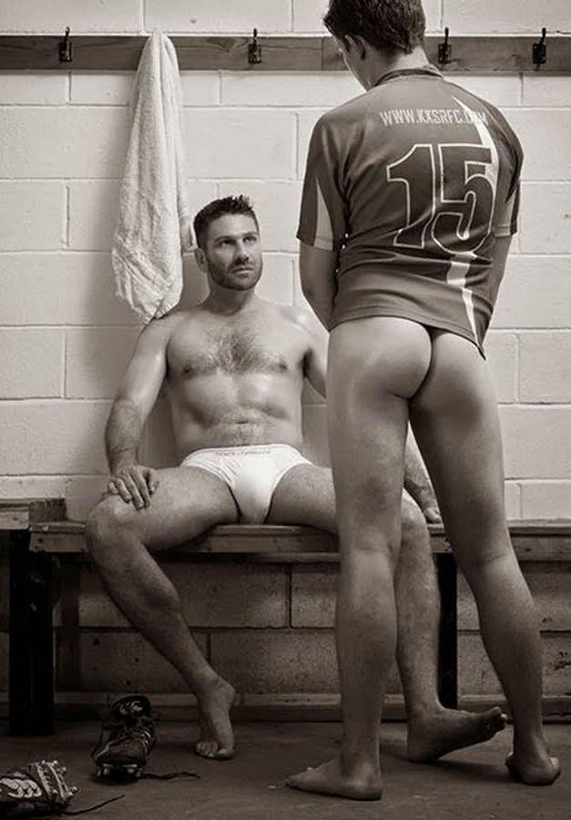 Gay masseur massages a boys sexy butt