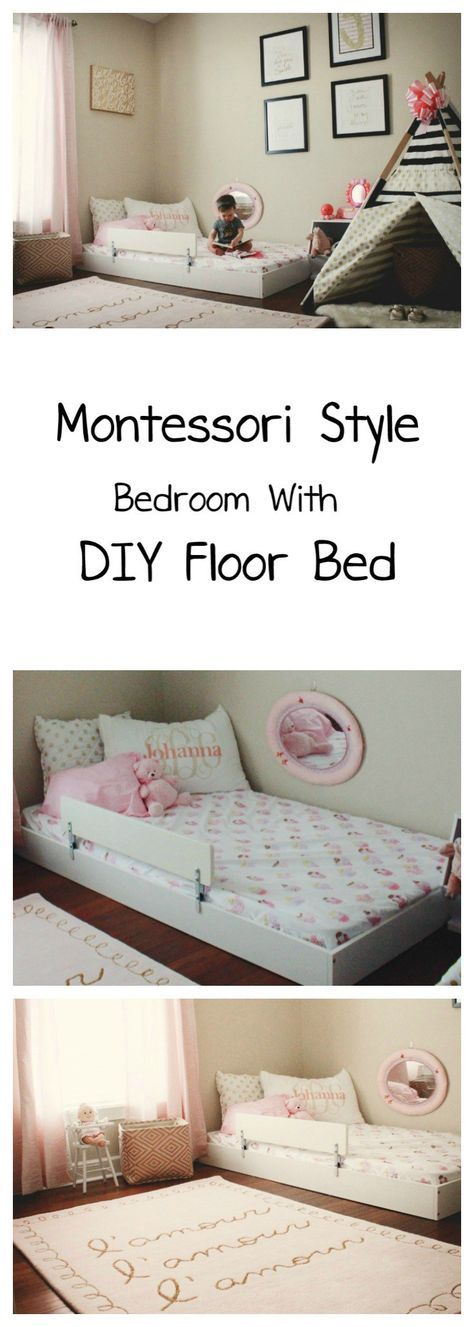 The 25 best Toddler floor bed ideas on Pinterest Toddler bed