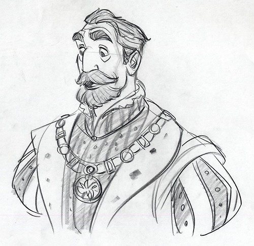 Character Design Noses : The king by jin kim older man aquiline nose moustache