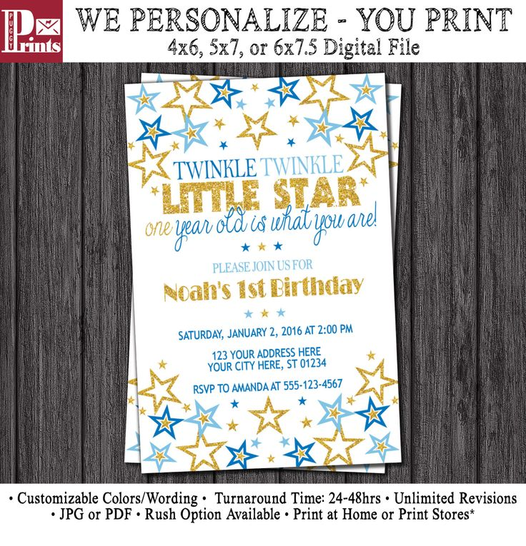 62 best Twinkle Twinkle Little Star Birthday Party images on ...