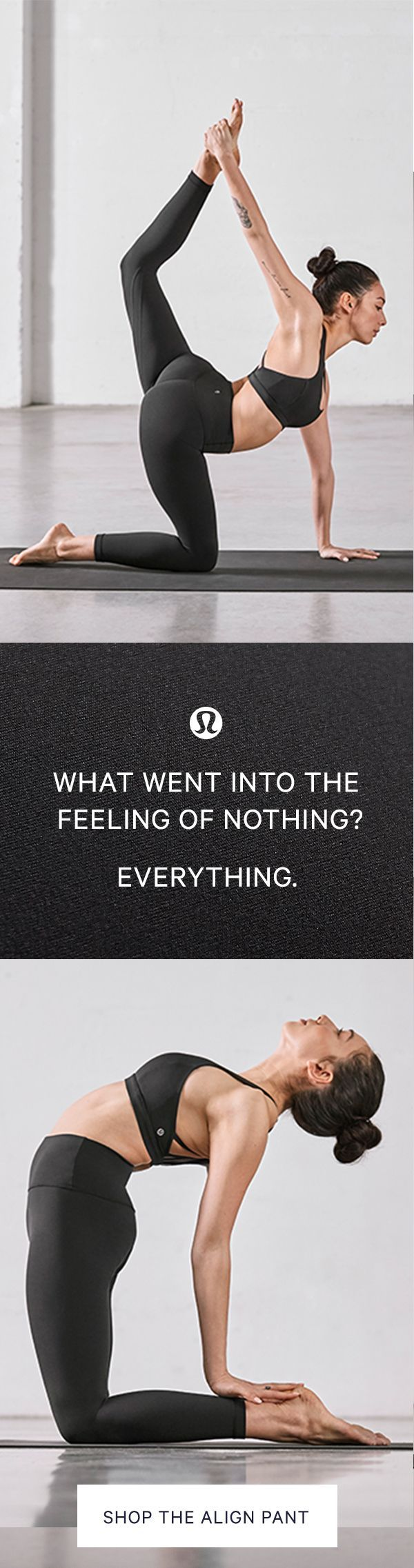 20 years of innovation led to nothing. Well, the feeling of nothing. These lightweight, high-rise pants are designed to minimize distractions and maximize comfort as you move. Made with our Naked Sensation Nulu™ fabric that's buttery soft, this revolution http://feedproxy.google.com/fashiongo/rfpD
