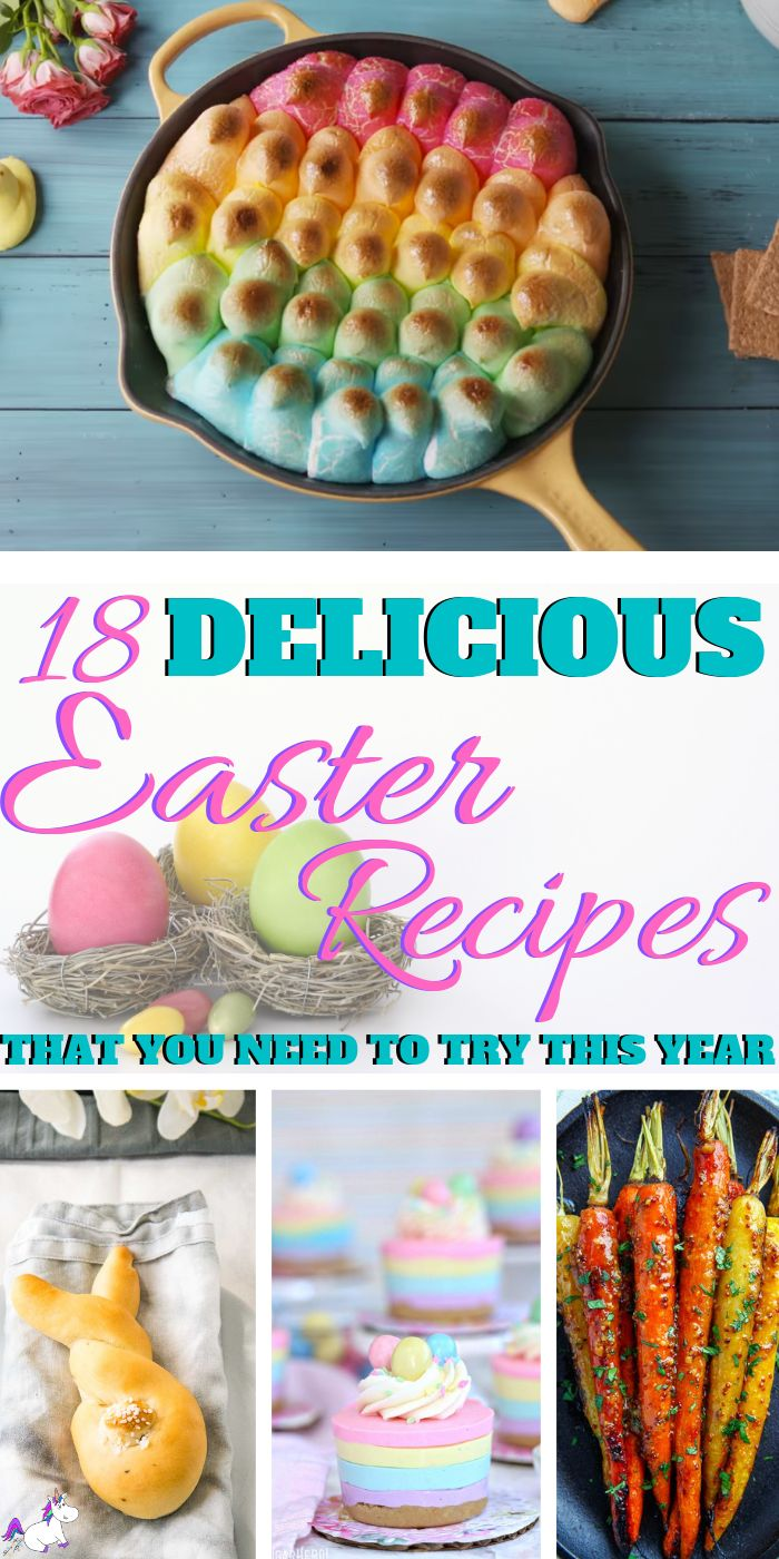 18 Delicious Easter Recipe Ideas You Have To Try This Year   Easter Recipes   Ea…