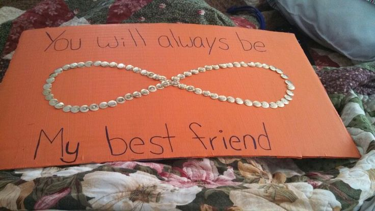 Something i made for my best friend :) #bestfriend #infinity #diy #crafts